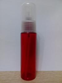 Круглый пластик 30 мл красный